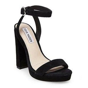 Steve Madden Addon black block heels